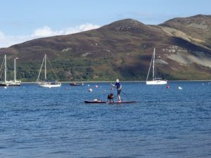 Stumpy and Deano at Lamlash