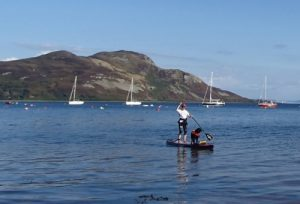 Rhona and Stumpy at Lamlash