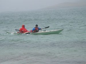 Deano and Patrick off Vatersay