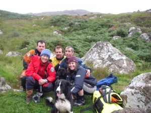 The Team - Ben, Carrie, Graeme, Deano, Rhona, Stumpy, and Hendrix