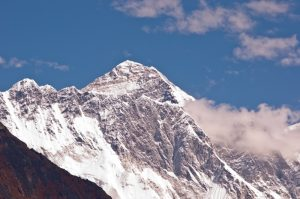 Mount Everest - courtesy of Eddie Adams