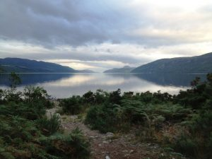 Loch Ness at 7am, before the wind arrived. - Photo courtesy of Eddie Riach