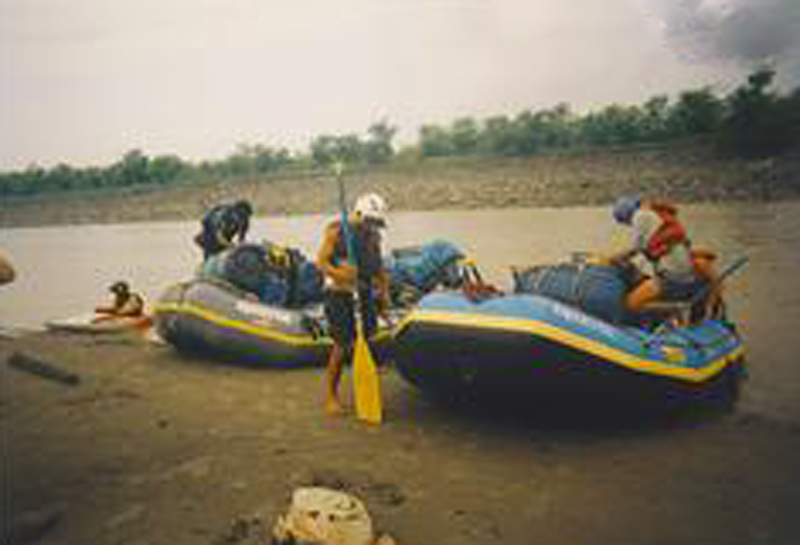 White Water Rafting Nepal - Longest river in the us