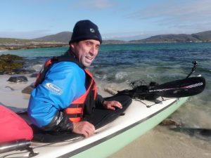 Deano off Pabbay - Photo courtesy of Patrick Winterton