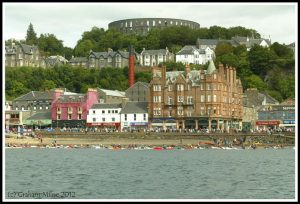 Oban Sea Kayak Race 2012 - photo courtesy of Graham Milne