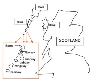 Sketch of Scotland