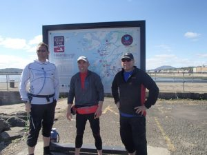 Day 4 at the end of the AASKT in Helensburgh.